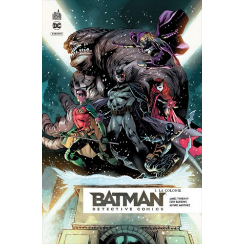Batman Detective Comics Pack Tome 1 + Tome 2 offert (VF)