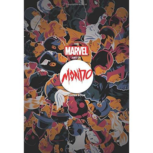 THE MARVEL ART OF MONDO POSTER BOOK TP (VO)