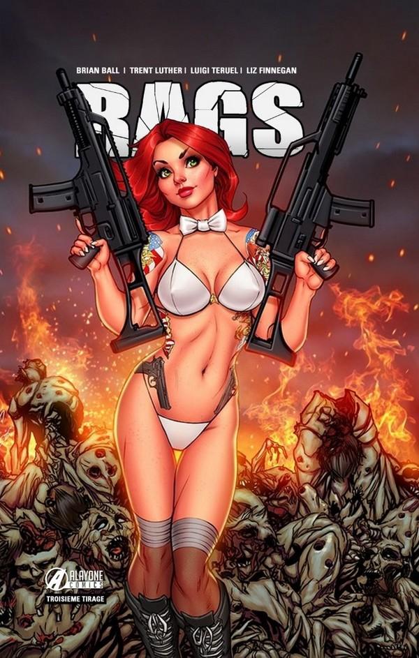 RAGS tome 1 Killing Zombie Edition (VF) (3ème tirage) - 500 ex