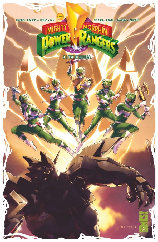 Power Rangers Tome 2 (VF)