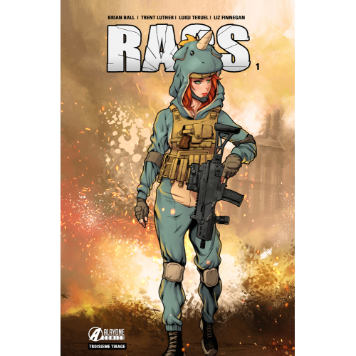 RAGS tome 1 Unicorn Apocalypse Edition (VF) (3ème tirage) 150 ex