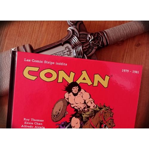 Conan : les COMIC STRIPS INEDITS 1979 - 1981 (VF)