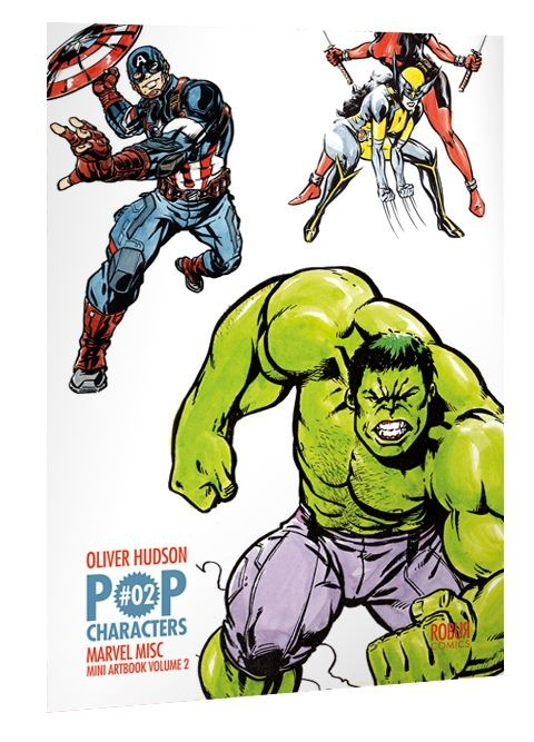 Mini Artbook Oliver Hudson Pop Characters Amin Misc (VF)