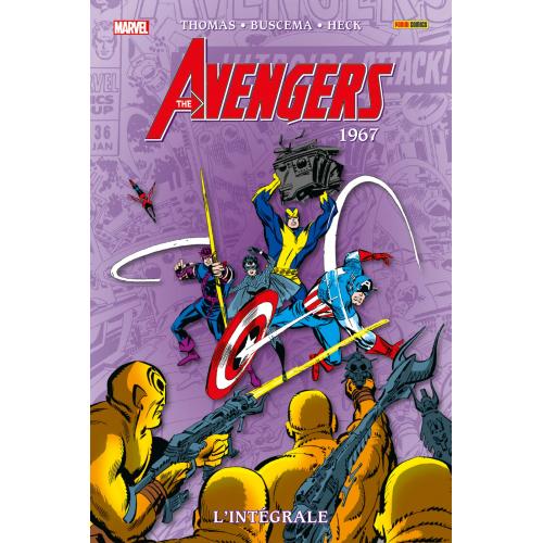 Avengers : L'intégrale Tome 4 1967 (Nouvelle édition) (VF)