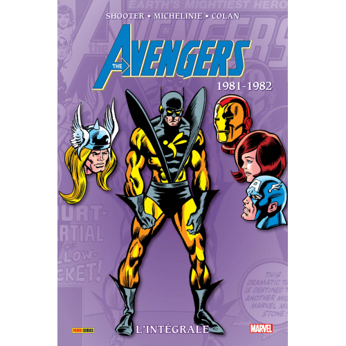 Avengers Intégrale Tome 18 1981-1982 (VF)