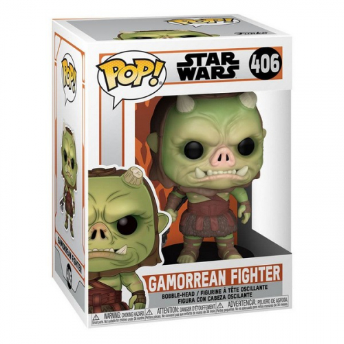 Funko Pop The Mandalorian Gamorean Fighter 406