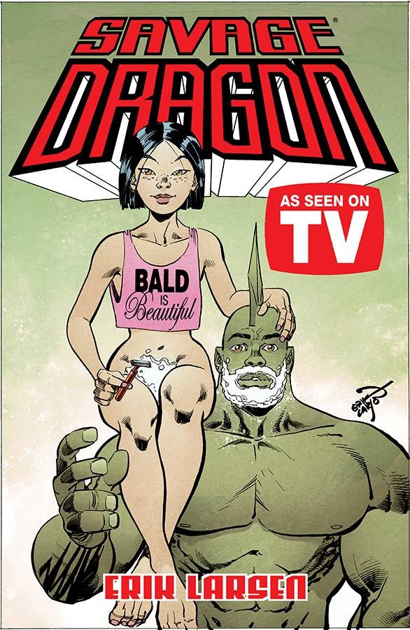 SAVAGE DRAGON AS SEEN ON TV TP (VO)