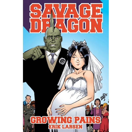 SAVAGE DRAGON GROWING PAINS TP (VO)