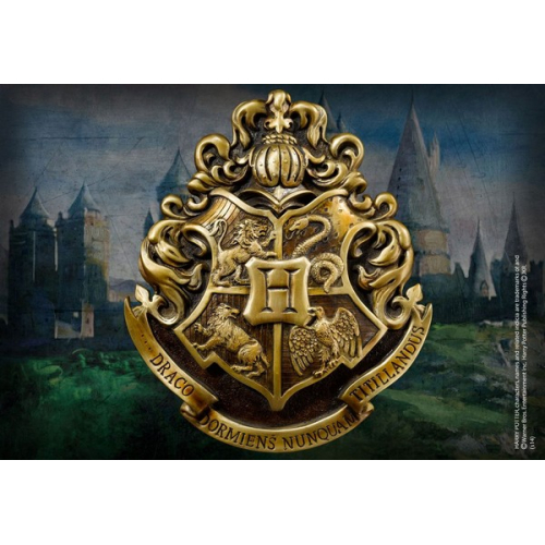 Harry Potter décoration murale Hogwarts School Crest 28 x 31 cm