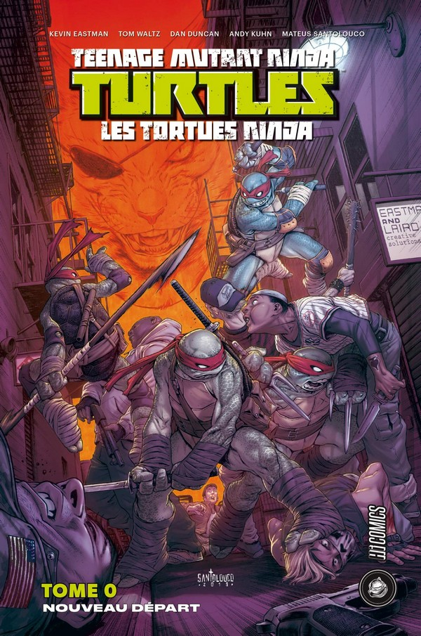 Omnibus Les Tortues Ninja tome 0 - Nouveau Départ (VF) Seconde Edition