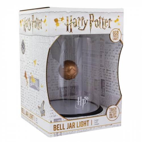 Harry Potter lampe Bell Jar Golden Snitch 20 cm