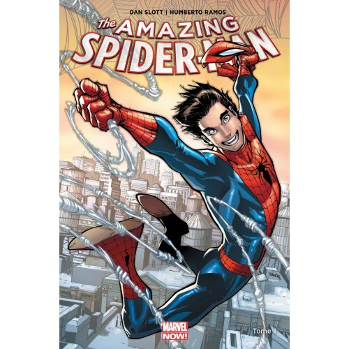 AMAZING SPIDER-MAN MARVEL NOW T01 (VF) cartonné