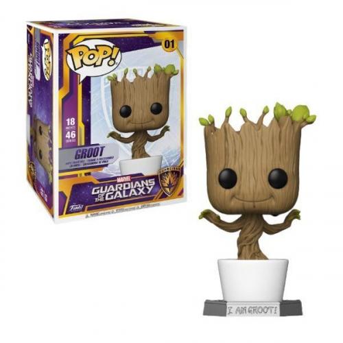 Funko Pop Guardians of the Galaxy Super Sized POP! Dancing Groot 46 cm