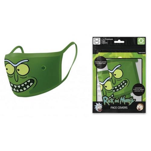 Masques en tissus pack de 2 Rick et Morty