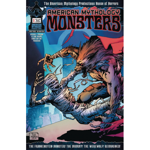 AMERICAN MYTHOLOGY MONSTERS 1 CVR A MARTINEZ (VO