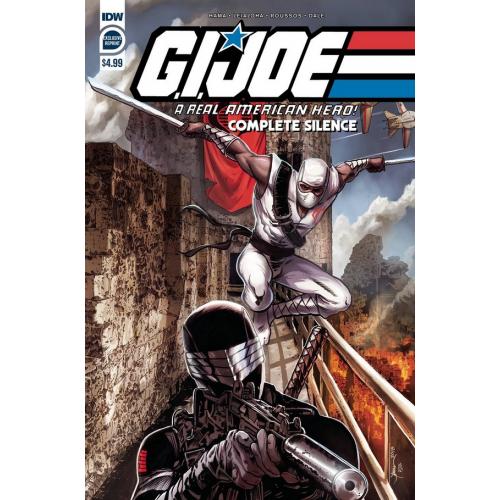 GI JOE A REAL AMERICAN HERO COMPLETE SILENCE (VO)