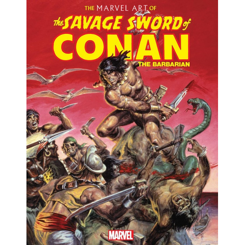 MARVEL ART OF SAVAGE SWORD OF CONAN HC (VO)