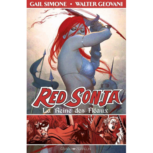 Red Sonja Tome 1 La Reine des fléaux (VF)