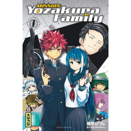 Mission : Yozakura family - Tome 1 (VF)