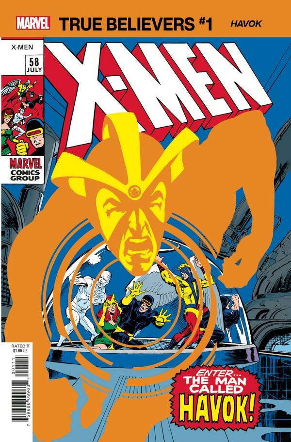 X-MEN HAVOK 1 (VO)