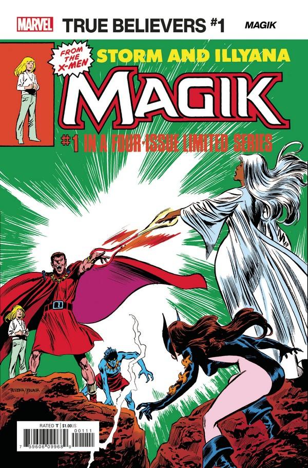 X-MEN MAGIK 1 (VO)