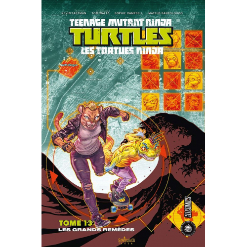 TMNT Tortues Ninja - Tome 13 (VF)