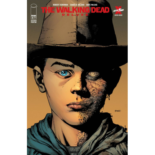WALKING DEAD DELUXE 4 CVR A FINCH & MCCAIG 2nd Print (VO)