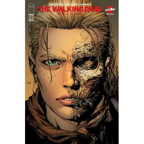 WALKING DEAD DELUXE 5 CVR A FINCH & MCCAIG 2nd Print (VO)