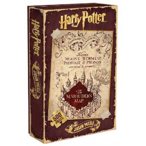 Harry Potter Puzzle carte du Marauder