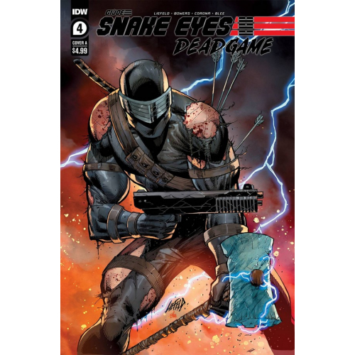 SNAKE EYES DEADGAME 4 (OF 5) CVR A LIEFELD (VO)