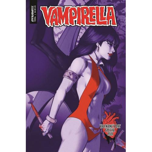 VAMPIRELLA VALENTINES SP ONE SHOT CVR B HA (VO)