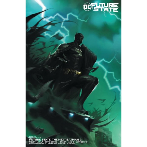 FUTURE STATE THE NEXT BATMAN 2 (OF 4) CVR B FRANCESCO MATTINA CARD STOCK VAR (VO)