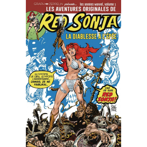 Les aventures originales de red sonja Volume 1 (VF)