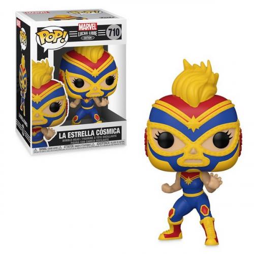 Funko Pop Luchadores Captain Marvel 710