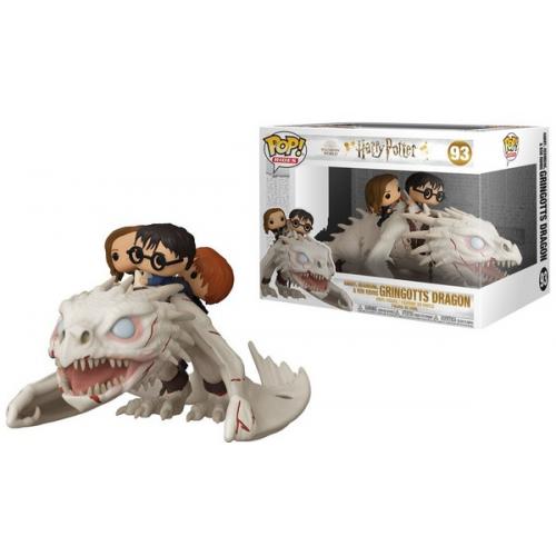 Funko Pop Harry Potter Rides Dragon Harry Ron Hermione 93