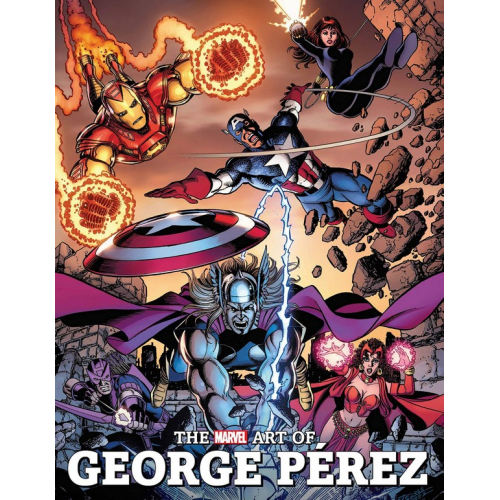 THE MARVEL ART OF GEORGE PEREZ HC (VO)
