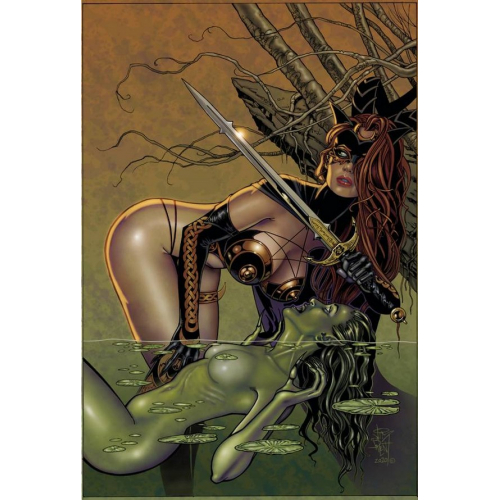 TAROT WITCH OF THE BLACK ROSE 126 (VO)