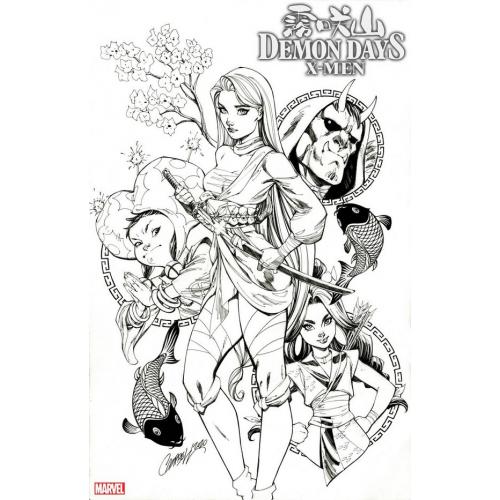 DEMON DAYS X-MEN 1 JS CAMPBELL VAR 1 : 50 (VO)