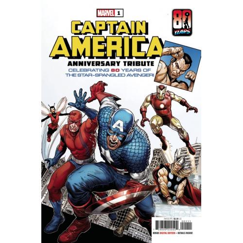CAPTAIN AMERICA ANNIVERSARY TRIBUTE 1 (VO)