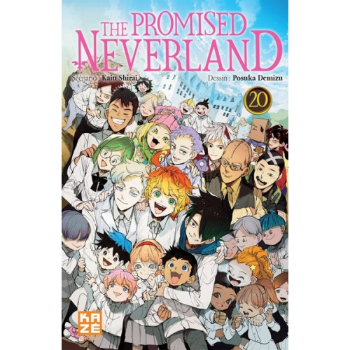 The promised Neverland Tome 20 (fin) (VF)