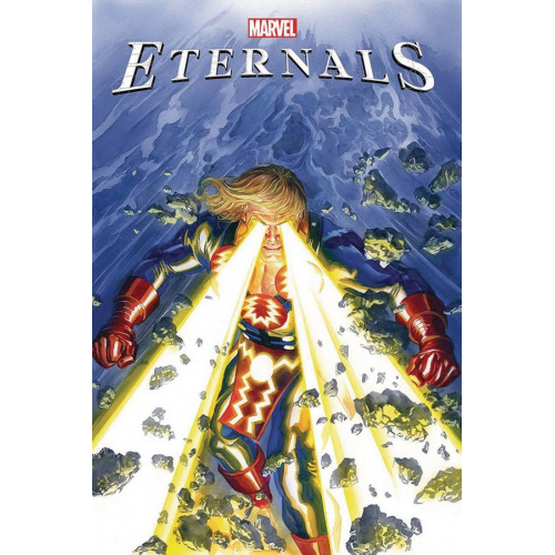 DF ETERNALS 1 ROSS CGC GRADED (VO) occasion plexiglas abîmé