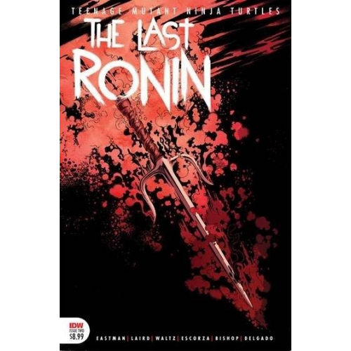 TMNT THE LAST RONIN 2 (OF 5) 2ND PTG (VO)