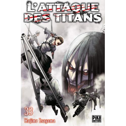 L'attaque des Titans Tome 33 (VF)