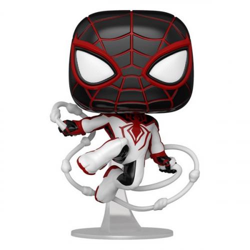 Funko Pop Marvel's Spider-Man POP! Games Vinyl figurine Miles Morales Track Suit 768
