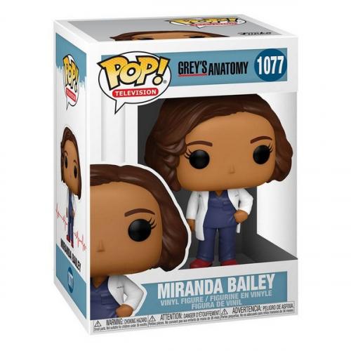 Funko Pop Grey's Anatomy TV Vinyl Figurine Dr. Bailey 1077