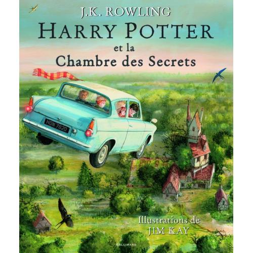 Harry Potter II : Harry Potter et la Chambre des Secrets Livre Illustré (VF)