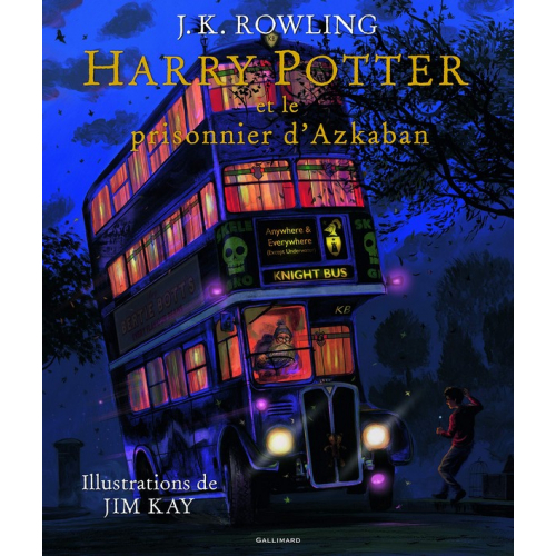 Harry Potter III : Harry Potter et le prisonnier d'Azkaban Livre Illustré (VF)