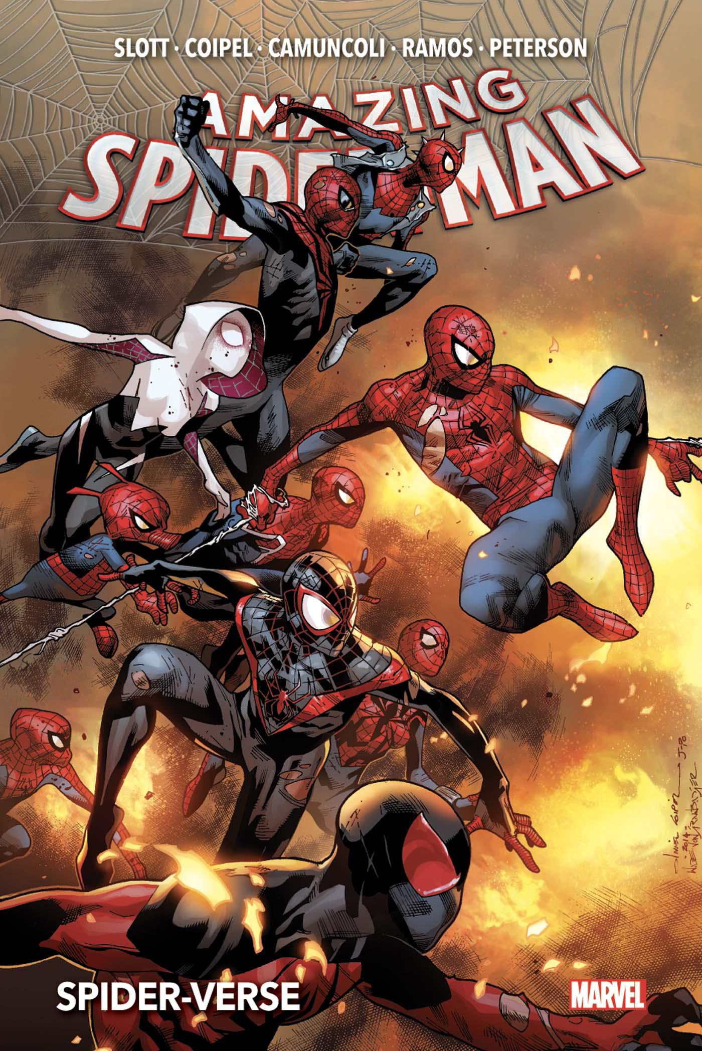 AMAZING SPIDER-MAN TOME 2 (NOW!) : SPIDER-VERSE (VF)