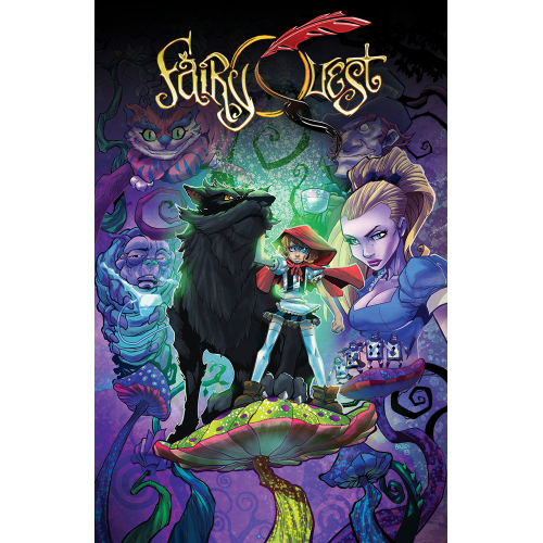 FAIRY QUEST TOME 3 - Edition Collector Couverture Mike Bowden - 500 ex
