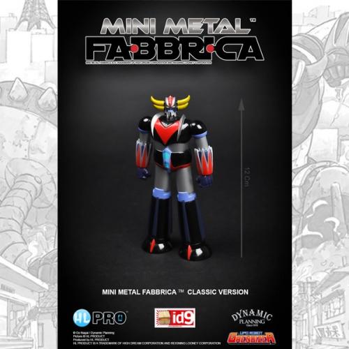Goldorak 12cm Mini Metal Fabbrica Classic